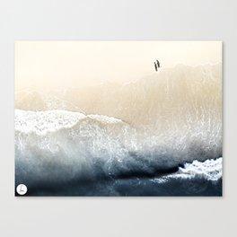 Long Walks On The Beach Canvas Print