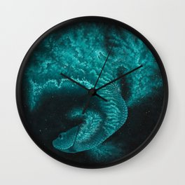 Cosmic Betta No. 2 Wall Clock