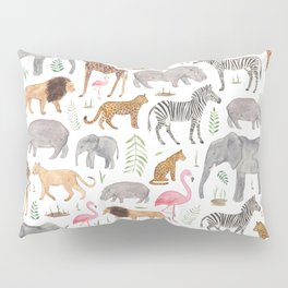 Safari Animals Pillow Sham