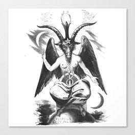 Baphomet - Satanic Church Canvas Print