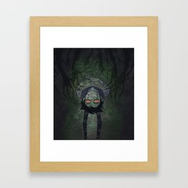The Dreary Hands of  the Subconscious Framed Art Print