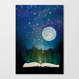 Open Your Imagination Canvas Print
