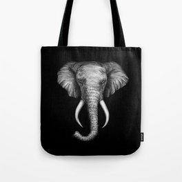 Elephant Head Trophy Tote Bag