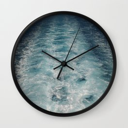 Sea Trails 1 Wall Clock
