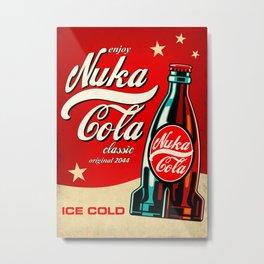 Nuka Cola - Fallout Metal Print