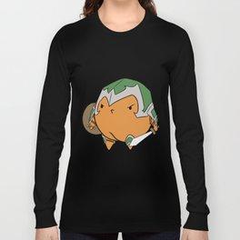 Fruit Warrior's - War Peach Long Sleeve T-shirt