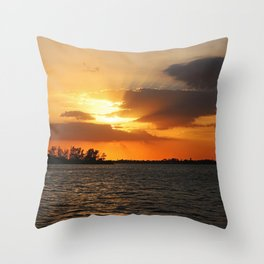 No Intentions Throw Pillow