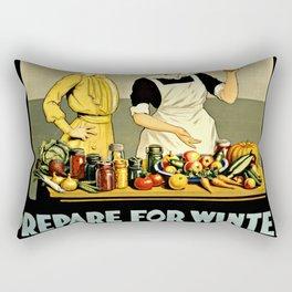 Waste Not Want Not Rectangular Pillow
