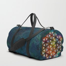 The Flower of Life Symbol Duffle Bag