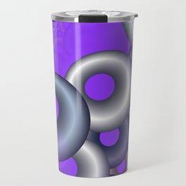 3D abstraction -12- Travel Mug
