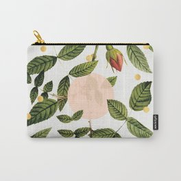 Leaves + Dots Carry-All Pouch