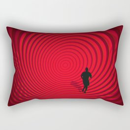 Into The Unknown CVII - Escape II Rectangular Pillow