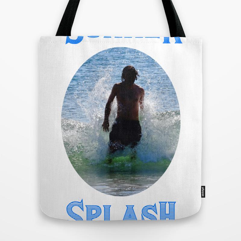 Summer Splash Tote Bag by Bbrightman TBG8887362