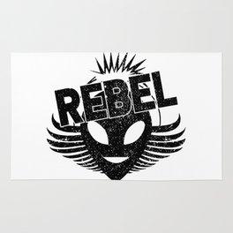 Rebel alien Rug