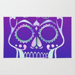 Love Skull (violette gradient) Rug
