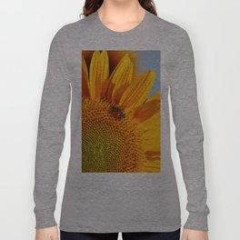 Sunflower & Bee Long Sleeve T-shirt