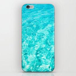Crystal Clear Sea Water iPhone Skin