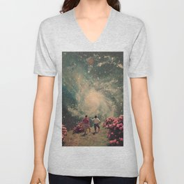 There will be Light in the End Unisex V-Neck