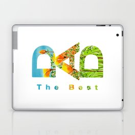 Gift for the best dad Laptop & iPad Skin