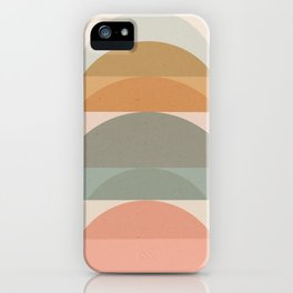 Geometric 01 iPhone Case