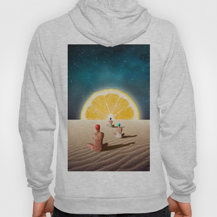 Desert Moonlight Meditation Hoody