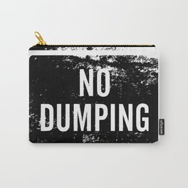 No Dumping sign Carry-All Pouch