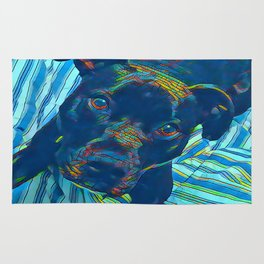Pittie series from our POP YOUR POOCH line Rug