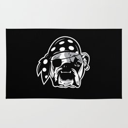Pirate Dog Rug