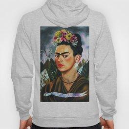 Frida Kahlo Flowers Hoody