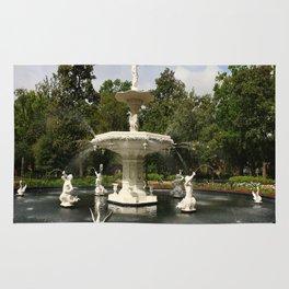 Forsyth Fountain in Forsyth Park Rug