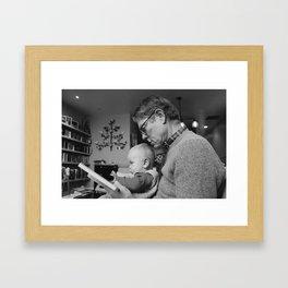 Hooray for Grandad Framed Art Print