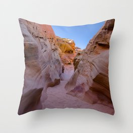 Colorful Canyon, Valley of Fire State Park Throw Pillow