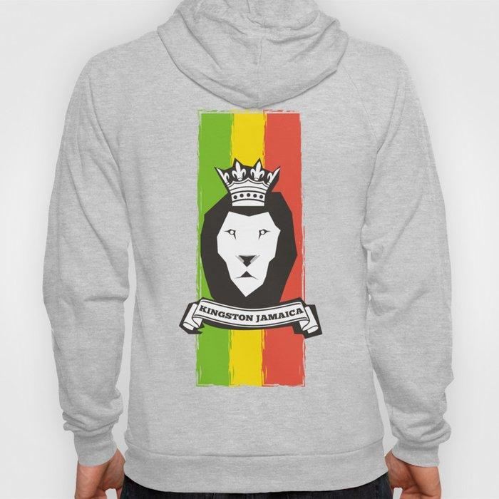 Rasta Lion Hoody