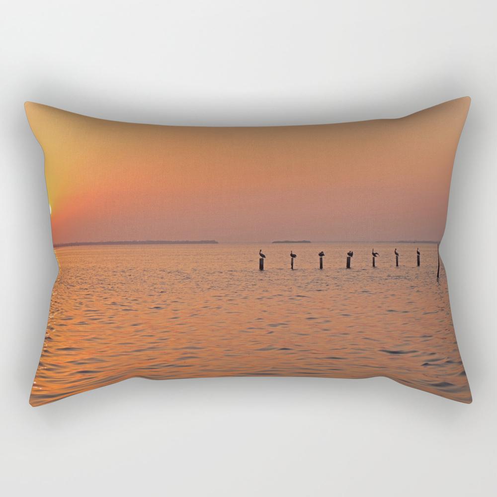 Keep The Lights On Rectangular Pillow RPW9033041