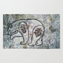 Bear Carving Rug
