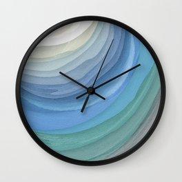Topography Wall Clock