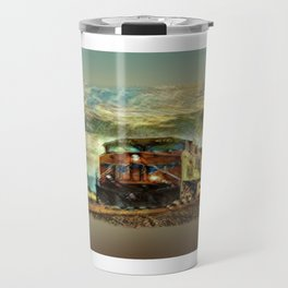 Observance Valley Freight Line Travel Mug