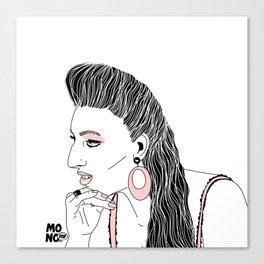 Rossy de Palma Canvas Print