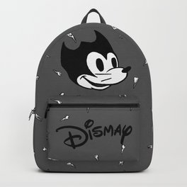 fallout Dismay cartoon on vintage tv Backpack