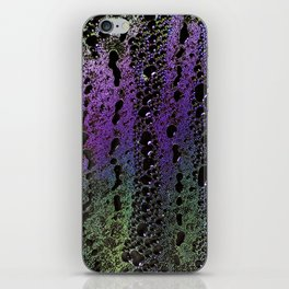 Psychedelic condensation iPhone Skin