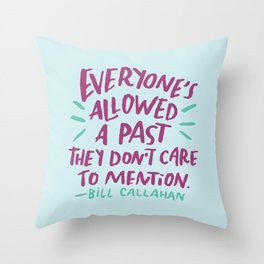 Bill Callahan Throw Pillow