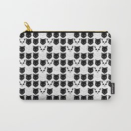 Schrodinger's Cat Print Carry-All Pouch