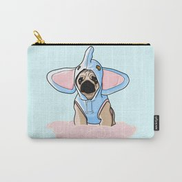Pug Elephant Costume Carry-All Pouch