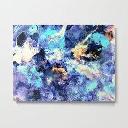 Lilac Antartica Metal Print