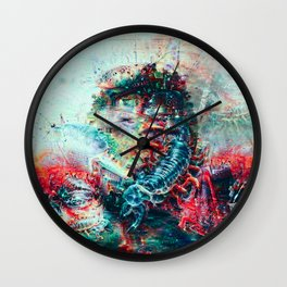 Sci-Fi Daymare Wall Clock