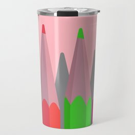 Coloring Pencils Travel Mug