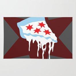 Chicago Deep Dish Pizza Rug