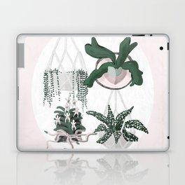 Plant Family Portrait for Plant Moms, Plant Ladies, and Plant Parenthood Laptop & iPad Skin