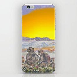 African Sun Family iPhone Skin