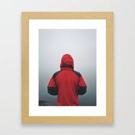 Fog Bank Framed Art Print